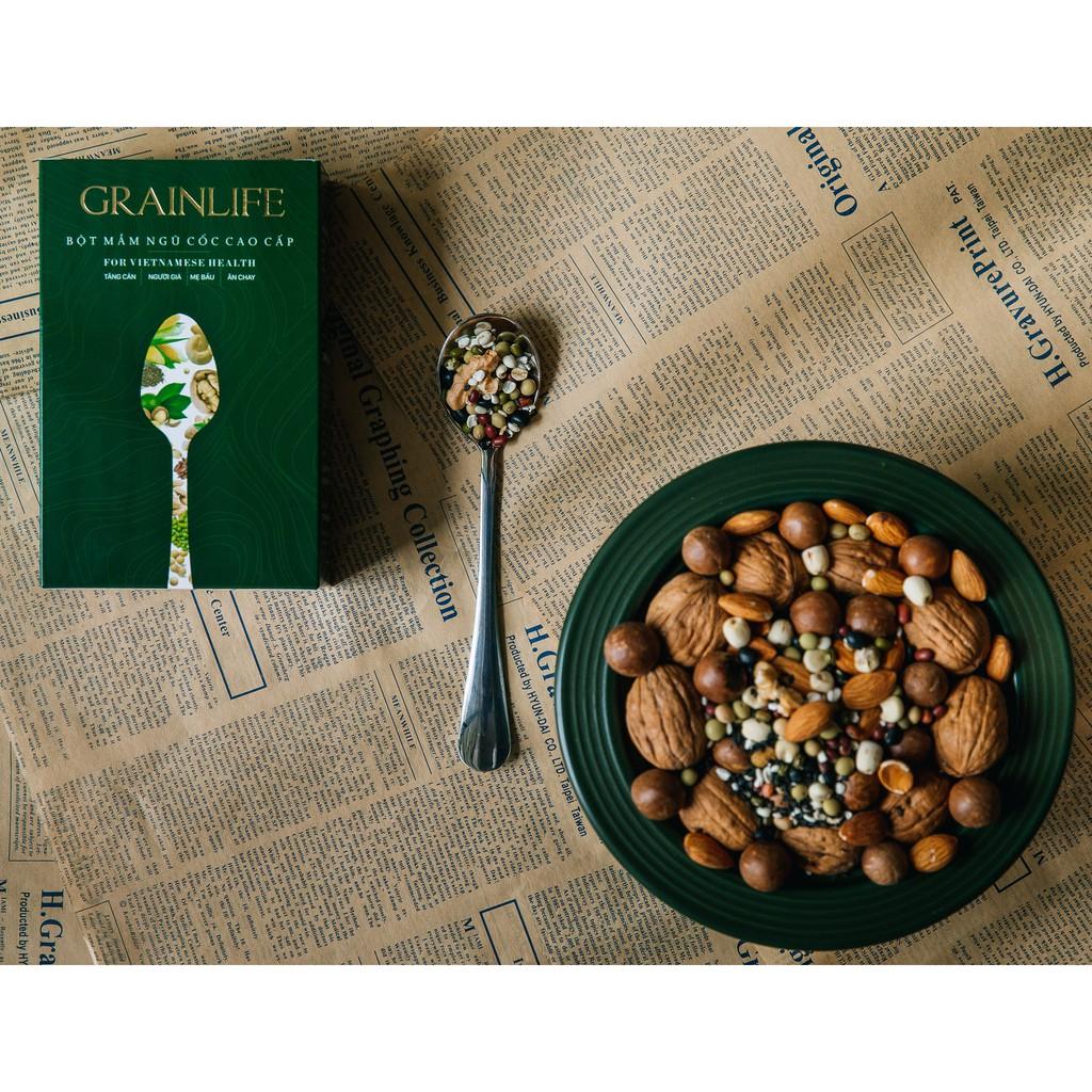 Bột mầm ngũ cốc cao cấp GrainLife - Hộp 500 gram