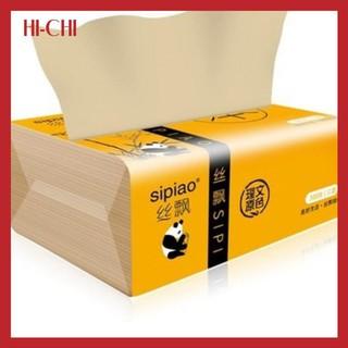 Yêu ThíchBịch giấy ăn cao cấp gấu trúc Sipiao siêu dai loại 300 tờ/gói - Khăn giấy Sipao kích thước 175x120x3mm