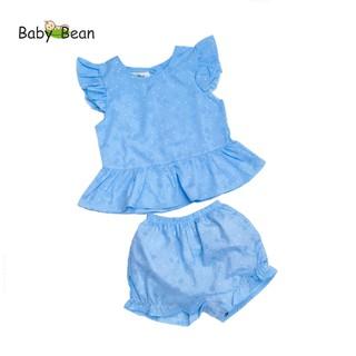 Bộ Lửng Kate Cánh Tiên Đính Nơ Quần Phồng BabyBean thumbnail