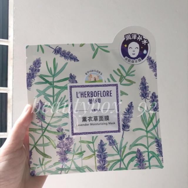 Mask lavender cân bằng dầu trên da L