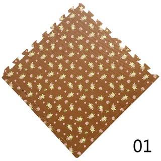 4PCS/16PCS Thảm xốp lót sàn hình tranh cho bé Trẻ em câu đố khâu Mat