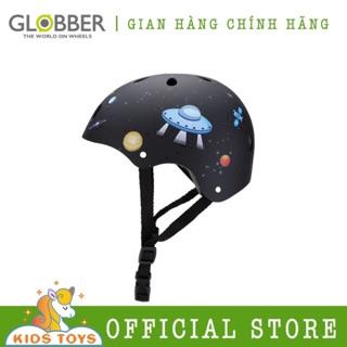 Mũ bảo hiểm Globber Junior - Họa tiết tên lửa Đen