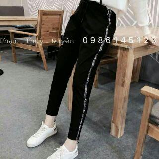 Quần leggings Chanel hàng Quảng Châu