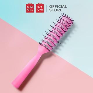 Lược chải tóc tròn Miniso (Đỏ) thumbnail