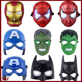Cool Avengers Figure Shape Cartoon Mask Toy for Kids