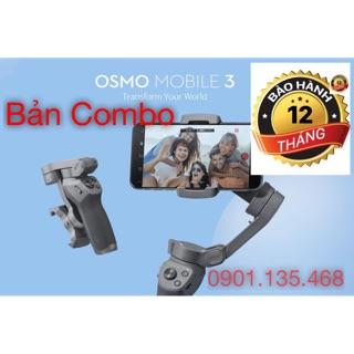 Gimbal Osmo Mobile 3 bản combo – Gimbal chống rung cho điệnj thoại và gopro