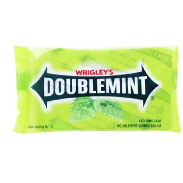 Kẹo gum hương bạc hà Doublemint Wrigley