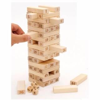 Trò chơi rút gỗ 54 thanh mới