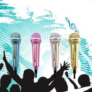 Sale 69% Mic hát Karaoke mini trên di động, Xanh dương Giá gốc 39000đ- 14F14