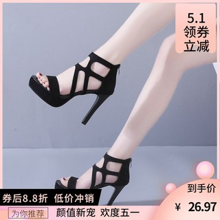 ☍△►Sexy shoes flirting with super high-heeled bed shoes, men s stiletto hate Tiangao waterproof platform princess nightclub to make a warming artifact