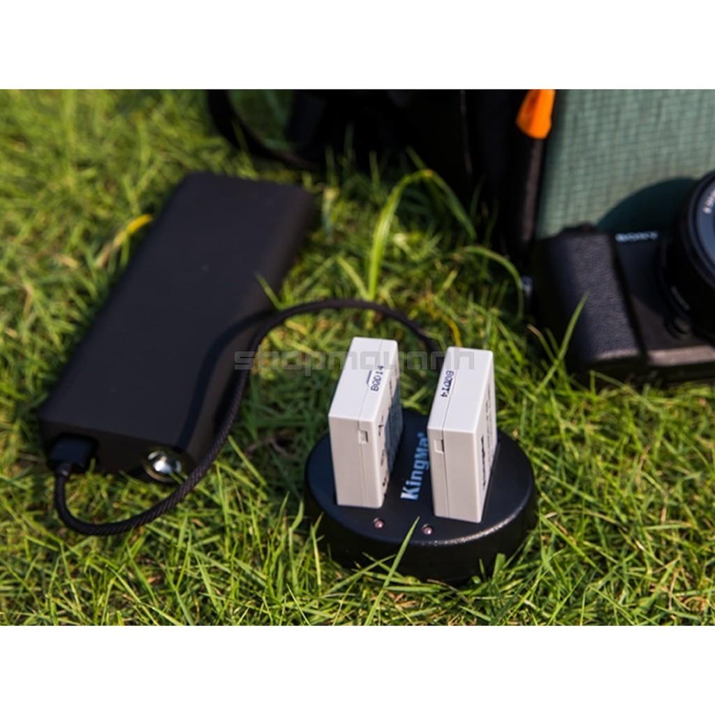 Sạc đôi LP-E8 cho CANON 550D/600D/650D/700D...hãng KingMa