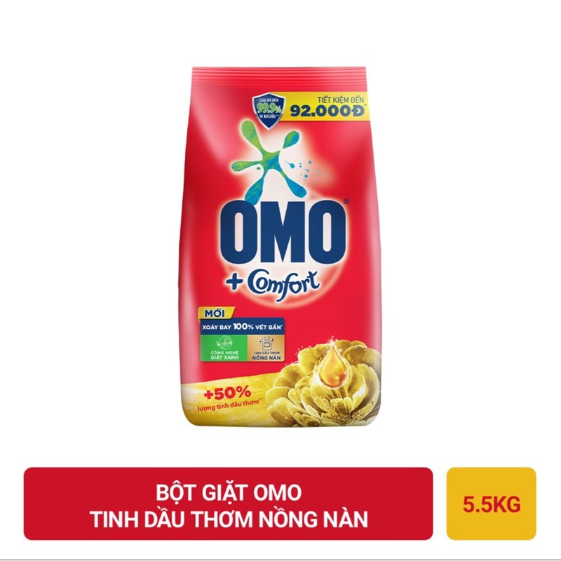 Bột giặt OMO 6Kg /