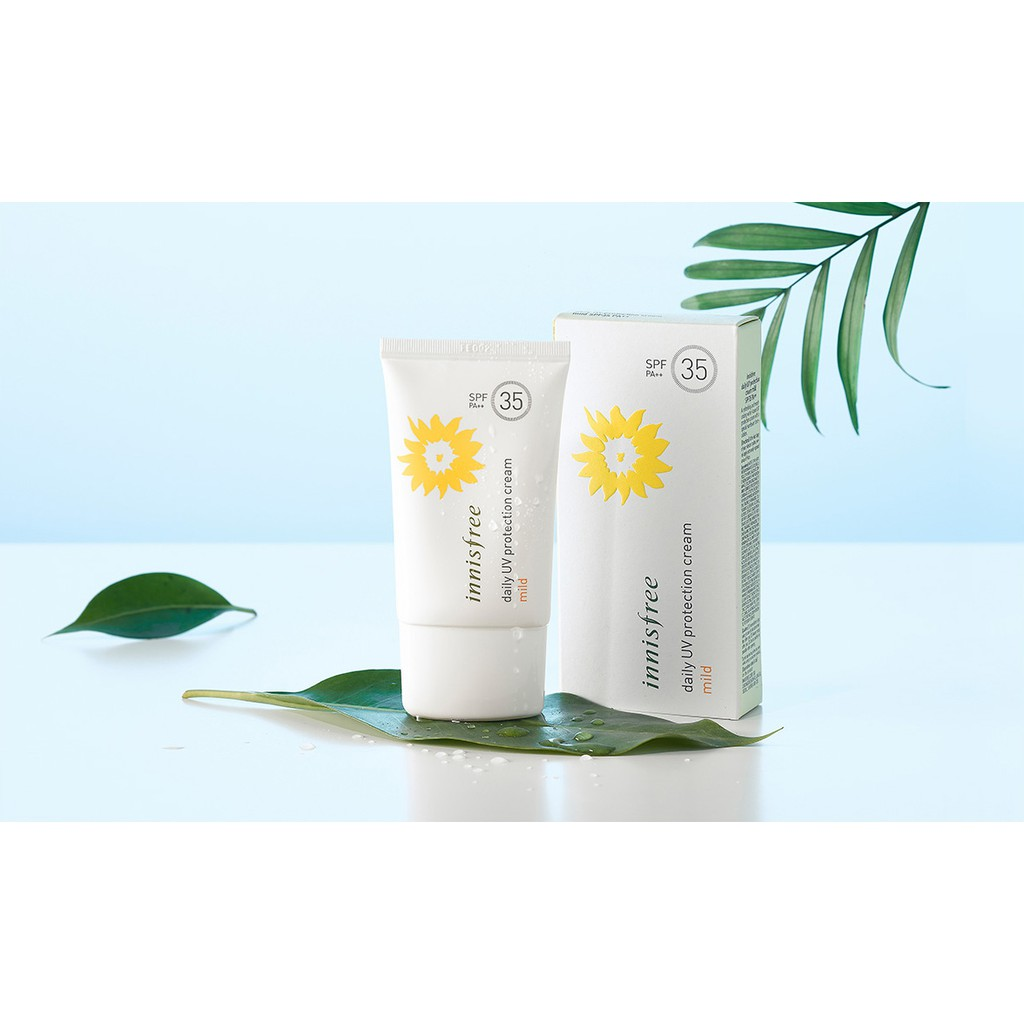 KEM CHỐNG NẮNG INNISFREE DAILY UV PROTECTION CREAM MILD SPF35 PA++