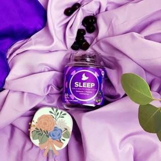 Kẹo dẻo hỗ trợ giấc ngủ Olly Sleep 50 Gummies – Blackberry Zen [CAM KẾT CHÍNH HÃNG]