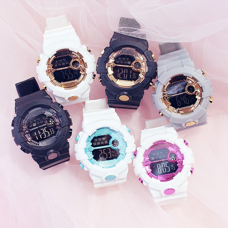 Đồng hồ thời trang nam nữ Sport điện tử full chức năng AOSUN