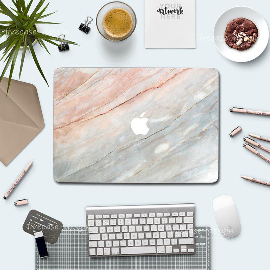 Case Ốp Macbook Hình Đá Granite (Tặng Món Bộ Nút Bịt Bụi Và Kẹp Chống Gãy Sạc) Giá chỉ 260.000₫