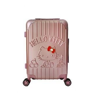 Vali Hello Kitty size 20 - hồng ruốc - sọc dọc thumbnail