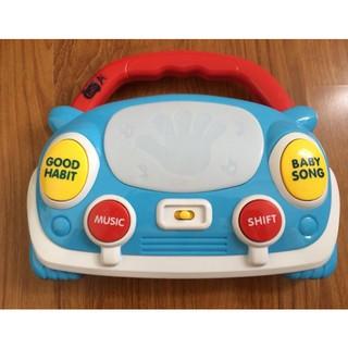 Hộp nhạc hình xe – Phát nhạc, phát sáng – luyện kĩ năng vận động, thính giác
