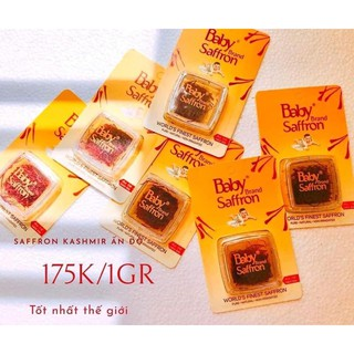 Baby Saffron nhập khẩu chính ngạch Ấn Độ chuyên Sỉ