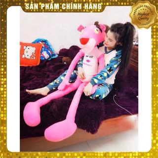 [SIỂU RẺ] Gấu Bông Báo Hồng Pink Panther Size 130cm và 160cm Cao Cấp,Lông Nhung Mềm Mịn