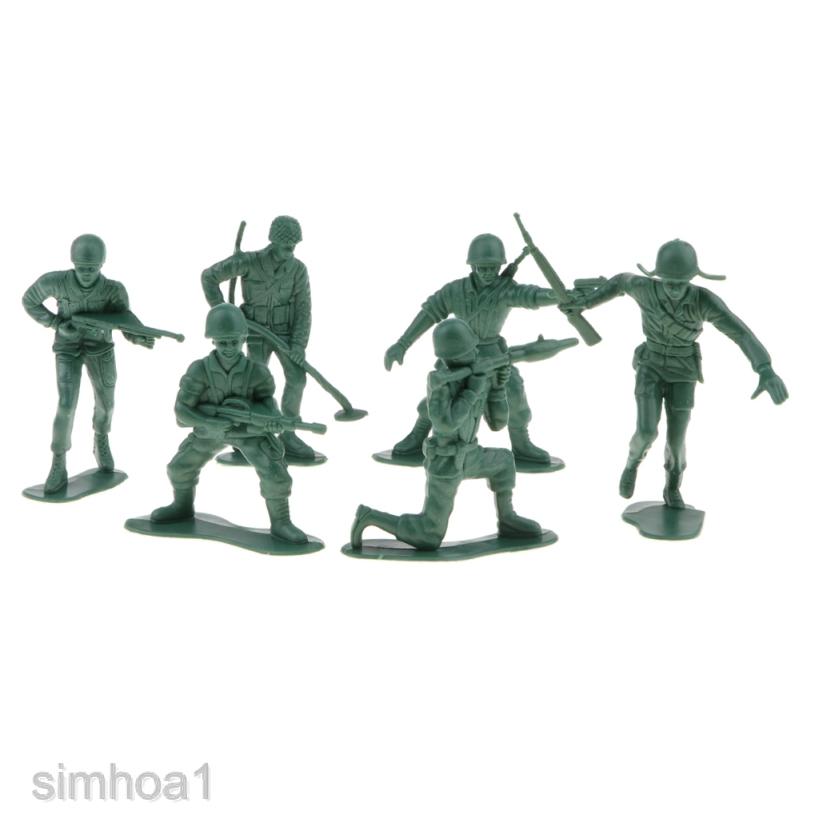 Bộ 6 Mô Hình Lính Quân Đội Tỉ Lệ 1: 16