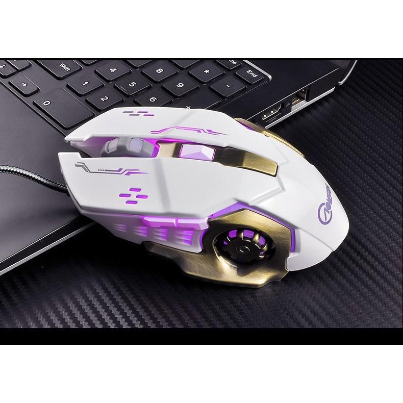 Chuột Gaming Mouse Thông Minh Có Đen Led CH11 Cực Chất
