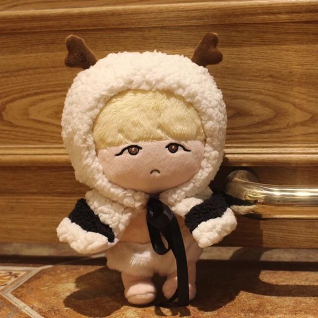 [CÓ SẴN] Doll Suga tóc vàng BTS kèm outfit