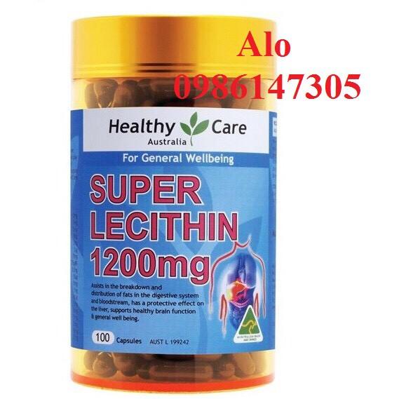 Mầm Đậu Nành Super Lecithin Healthy care 100 Viên - Úc 4.9 - 22512281 , 2626754501 , 322_2626754501 , 190000 , Mam-Dau-Nanh-Super-Lecithin-Healthy-care-100-Vien-Uc-4.9-322_2626754501 , shopee.vn , Mầm Đậu Nành Super Lecithin Healthy care 100 Viên - Úc 4.9