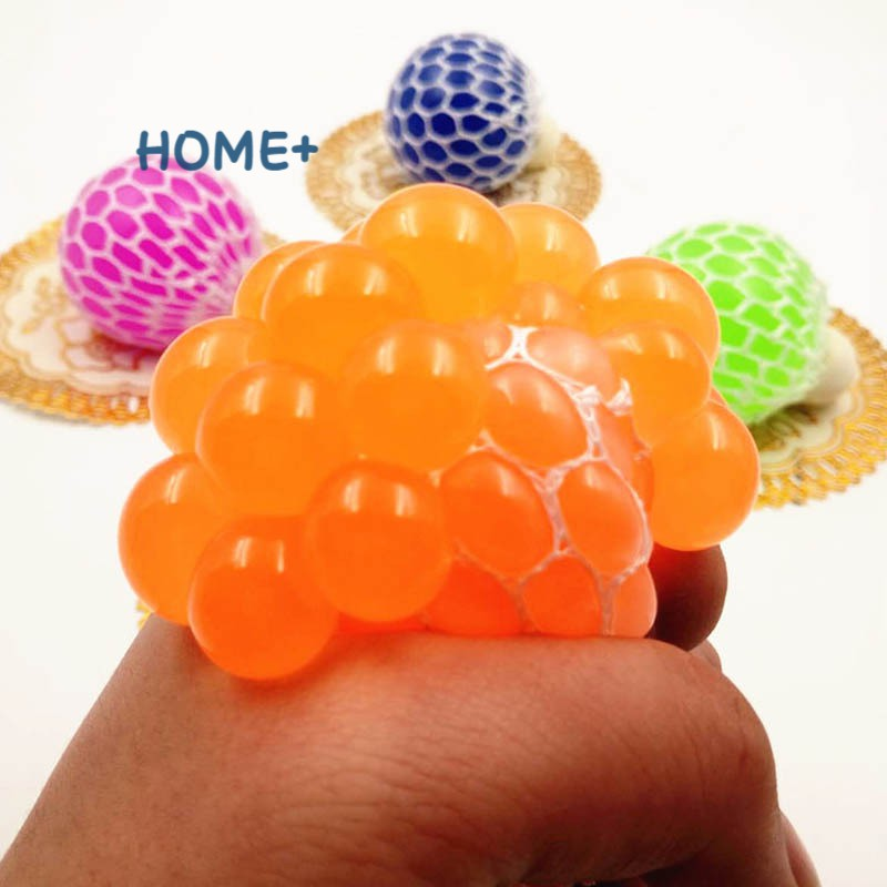 Tsuc Anti Stress Grape Balls Venting Balls Squeeze Stresses Reliever Toy Funny Gadgets Gift @vn