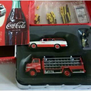 [ Tomytec ] Set xe Cocacola của Tomytec full box