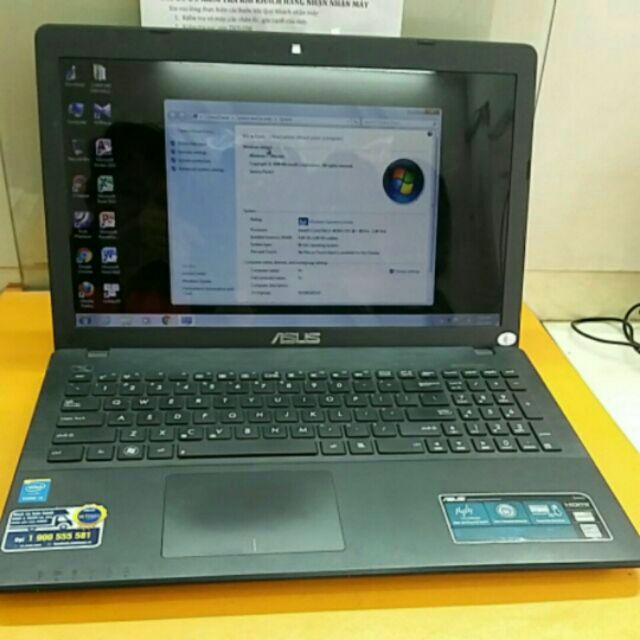 Máy Laptop Asus X552LAV-(Intel Core i3-4030U 1.9GHz, 2GB RAM, 500GB HDD, VGA Intel HD Graphics 4400, - 2586674 , 308031216 , 322_308031216 , 5500000 , May-Laptop-Asus-X552LAV-Intel-Core-i3-4030U-1.9GHz-2GB-RAM-500GB-HDD-VGA-Intel-HD-Graphics-4400-322_308031216 , shopee.vn , Máy Laptop Asus X552LAV-(Intel Core i3-4030U 1.9GHz, 2GB RAM, 500GB HDD, VGA I