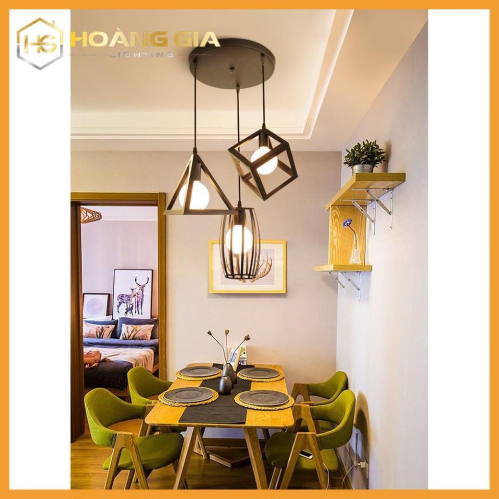 Chỉ 139,320đ Đèn thả bàn ăn - Đèn thả - đèn trang trí hình học đa dạng -  Tặng kèm bóng LED cao cấp