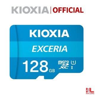 Thẻ nhớ Kioxia (Toshiba) Micro SDHC 128GB C10 UHS-I 100MB/s - Bảo hành chính hãng FPT