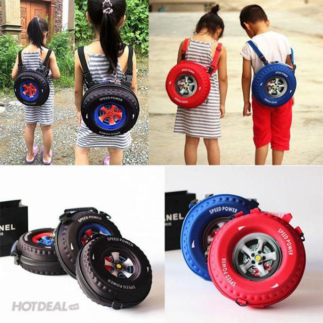 Balo 3D hình bánh xe - 9940978 , 1250466060 , 322_1250466060 , 85000 , Balo-3D-hinh-banh-xe-322_1250466060 , shopee.vn , Balo 3D hình bánh xe