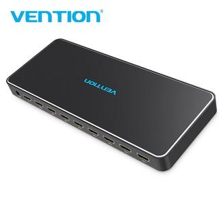 Bộ chia HDMI 1 ra 8 Vention vỏ hợp kim, hỗ trợ 3D, 4k