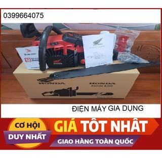 Máy cưa xích chạy xăng CX68 Honda 68cc cưa gỗ ưu việt hơn husqvarna oshima yamaha _ Nhật Việt official