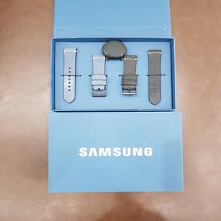 [Mã ELFLASH5 giảm 20K đơn 50K] Dây Da Đồng Hồ Samsung Size 20mm Nguyên Hộp Bảo Hành 6 Tháng
