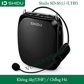 Máy Trợ Giảng Không Dây Shidu SD-S615 (UHF) – Hàng Chính Hãng
