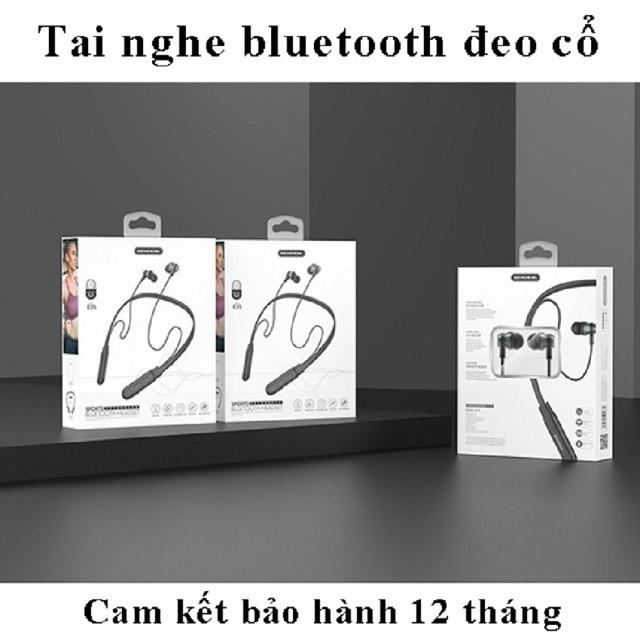[FREE SHIP] Tai Nghe Bluetooth quàng cổ Sendem E35 Kiểu Dáng Thể Thao, Pin cực trâu 15 TIẾNG, Bảo hành 12 tháng