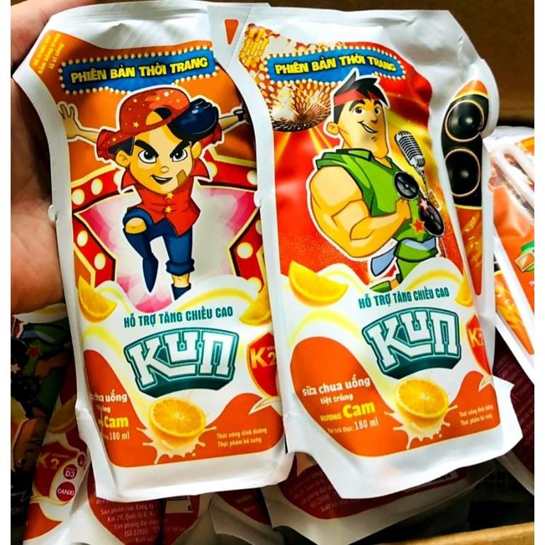 Giá 1 thùng kun kun 180ml