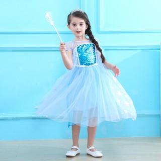 Váy Nữ Hoàng Băng Giá Elsa – Frozen 1 – TSB16