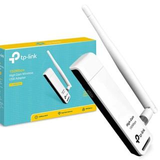 USB thu wifi có râu TP-LINK 722N 150Mb – Hàng chính hãng