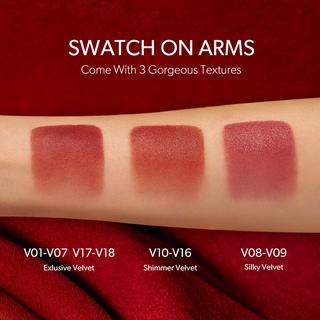 Hình ảnh Son Kem Lì Perfect Diary Glamour Select Velvet Liquid Lipstick( Red Velvet Edition) 3g-1