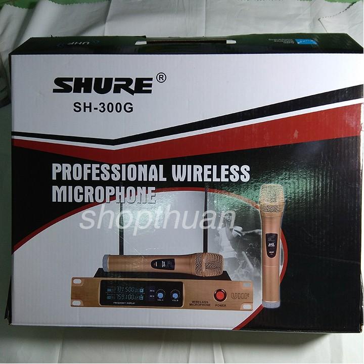Micro không dây SHURE SH300G - 2526280 , 450625234 , 322_450625234 , 795000 , Micro-khong-day-SHURE-SH300G-322_450625234 , shopee.vn , Micro không dây SHURE SH300G