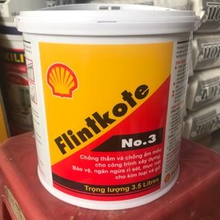 Sơn chống thấm Bitum Flintkote no3 lon 3,5 lít