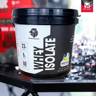 WHEY ISOLATE 2kg + Tặng Shaker – Sữa Tăng Cơ Muscle King (Chính Hãng 100% – Có Tem Check Chính Hãng))