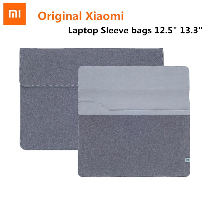 Slim Original Xiaomi air 12.5 13.3 inch laptop Sleeve bags case notebook for Macbook Air 11 12 inch Xiao mi Notebook Air