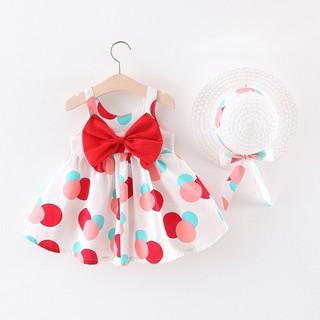 Váy xinh thiết kế sang chảng, chất liệu thoáng mát cho bé, hàng thiết kế Quảng Châu - Váy thiết kế váy xinh cho bé