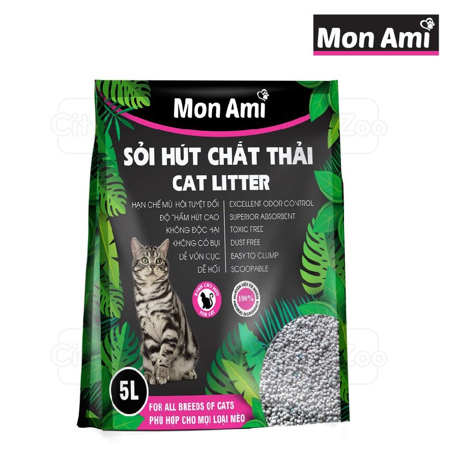 Đồ Dùng Cho Mèo Giá Rẻ Sỏi Hút Chất Thải Mon Ami Hygiene