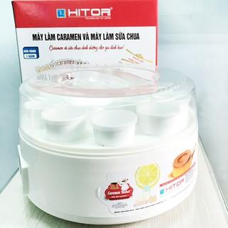 Máy làm Caramen và Sữa chua Hitops 12 cốc sứ 2in1